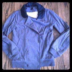 Marc Jacobs sweater with satin Peter Pan collar xs