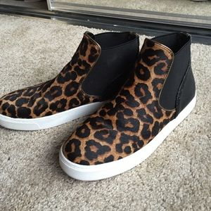 Sam Edelman leopard slip on sneakers
