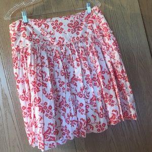 Gap floral skirt sz 12