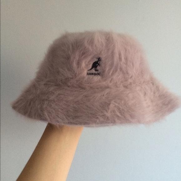 acf5ff0c1 Kangol Accessories   90s Angora Bucket Hat M   Poshmark