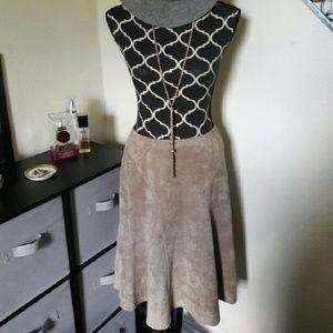 Lapis Dresses & Skirts - 🚩FINAL PRICE 🚩LAPIS Faux Suede Skirt