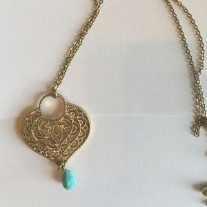 Jewelry gold heart shaped pendant necklace poshmark jewelry gold heart shaped pendant necklace aloadofball Choice Image
