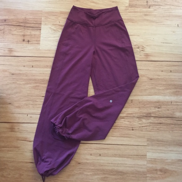 64% off lululemon athletica Pants - Lululemon Full Length Gaucho ...