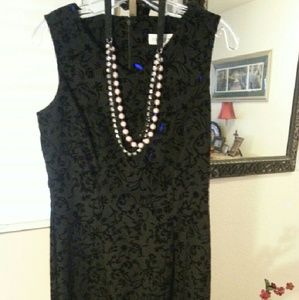 Harlow Dresses & Skirts - Beautiful black dress!  Textured fabric is lovely