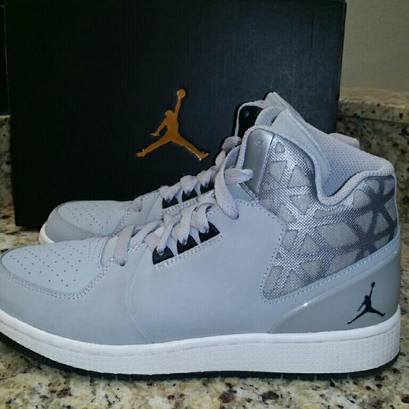 Jordan 1 Flight 3 BG Gray Sneakers Unisex