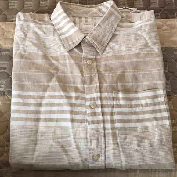 d60bff74cb Gap Shirts | Mens Linen Blend Long Sleeved Shirt From | Poshmark