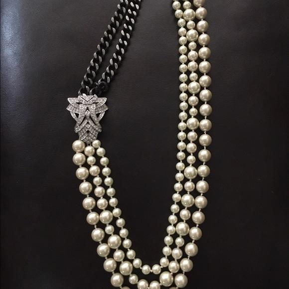 bd0e564114718 Stella & Dot Daisy Pearl Necklace
