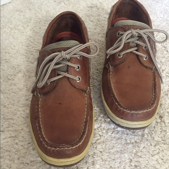Sperry Shoes   Mens Leather Sperrys