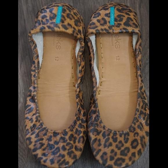 Tieks Shoes | Leopard Print Tieks