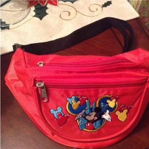 Other - New Red Mickey Mouse bag