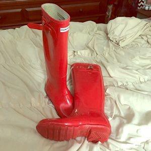 Hunter Rain Boots Tall/Gloss