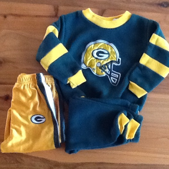 the best attitude ed161 9046e Vintage Green Bay Packers baby clothes