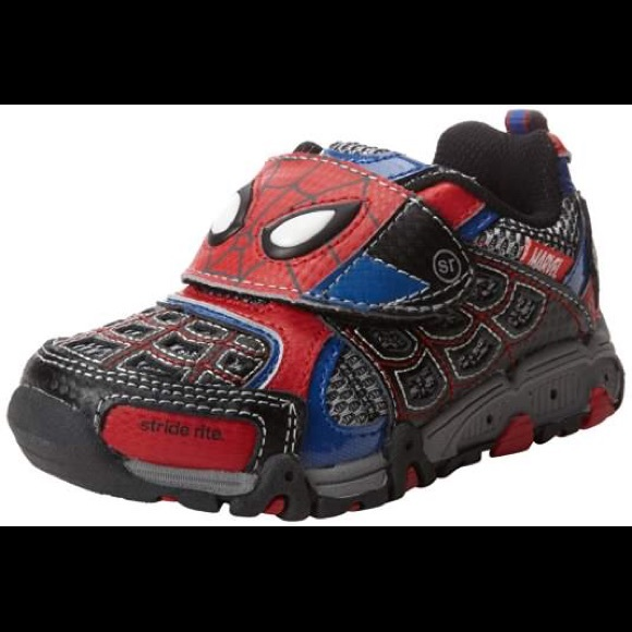 Stride Rite Spiderman Lightup Shoes