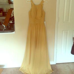 JJS House Dresses   New Gold Floor Length