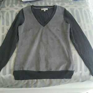 Banana Republic small grey merino wool sweater