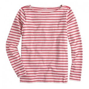 J. Crew Long-Sleeve Sailor-Stripe T-Shirt