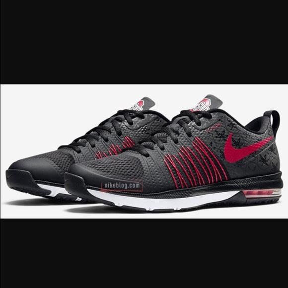 huge discount 50302 3e72f Nike Air Max Ohio State shoes