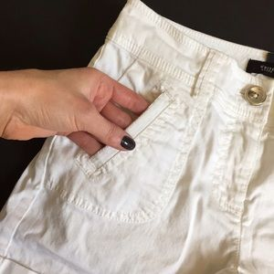 White House Black Market Shorts - White House Black Market white shorts; size 00