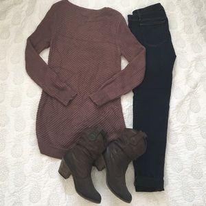 mossimo tunic sweater - Foulard Color