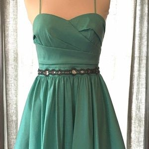 NWT Aidan Mattox Strapless Party Dress size 6