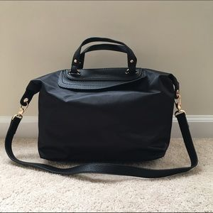 Neiman Marcus Handbags - Black Nylon satchel