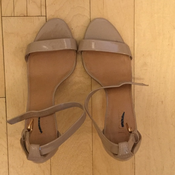 47 off j crew shoes j crew nude patent sandals from a for J crew bedroom slippers