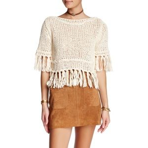FREE PEOPLE On the Fringe Sweater