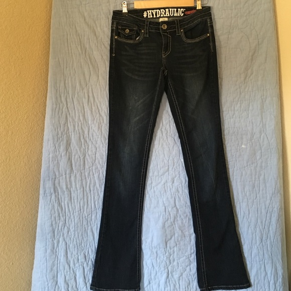67389e2198c Hydraulic Denim - Hydraulic Jeans- Lola Curvy  Slim boot cut
