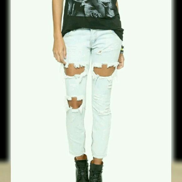 8042ecea53b One Teaspoon Jeans   New Ripped   Poshmark