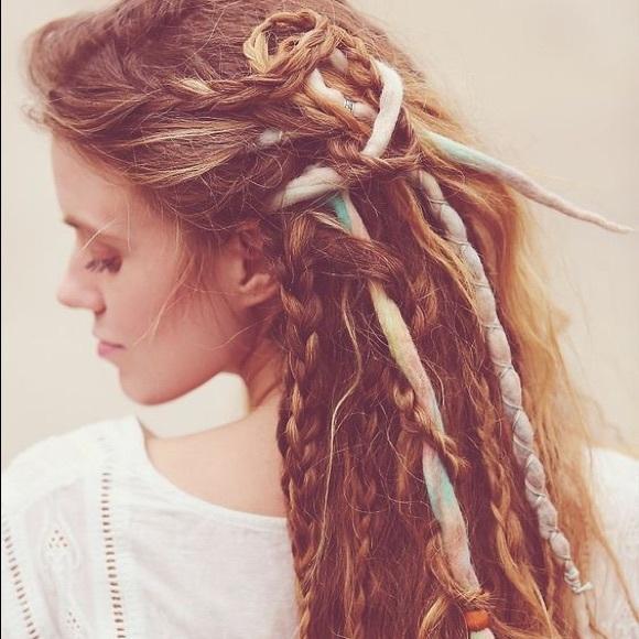 Free People Accessories Wool Dread Lock Hair Extensions Poshmark