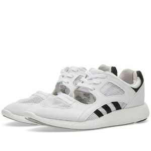 Adidas EQT Support ADV (Core Black & Turbo) End Clothing