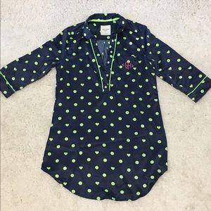 Polka Dot Night Gown