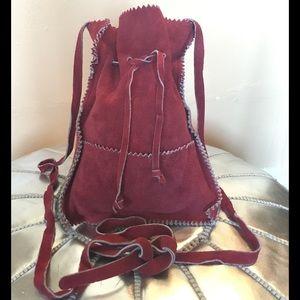 Handbags - 🆕 Genuine Suede Crossbody Bag