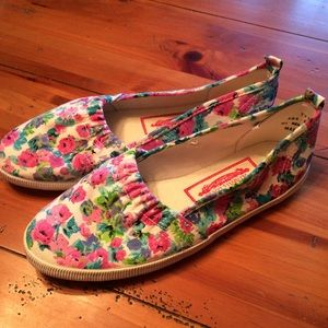 Seperate Issue Shoes - Size 8 Floral Slide On Sneakers. MUST BUNDLE