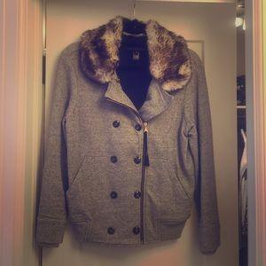 Marc by Marc Jacobs Jackets & Blazers - Marc by Marc Jacobs faux fur sweatshirt jacket