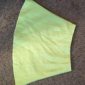Neon J.Crew Skirt