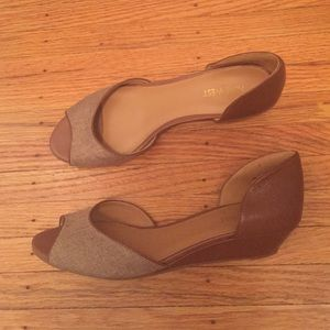 Nine West open toe shoe