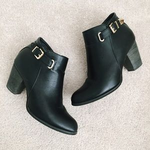 Wanted Shoes - Wanted black faux leather ankle boots size 7