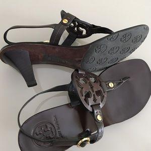 03ad88226ee Tory Burch Shoes - Tory Burch Miller Kitten Heel Sandals