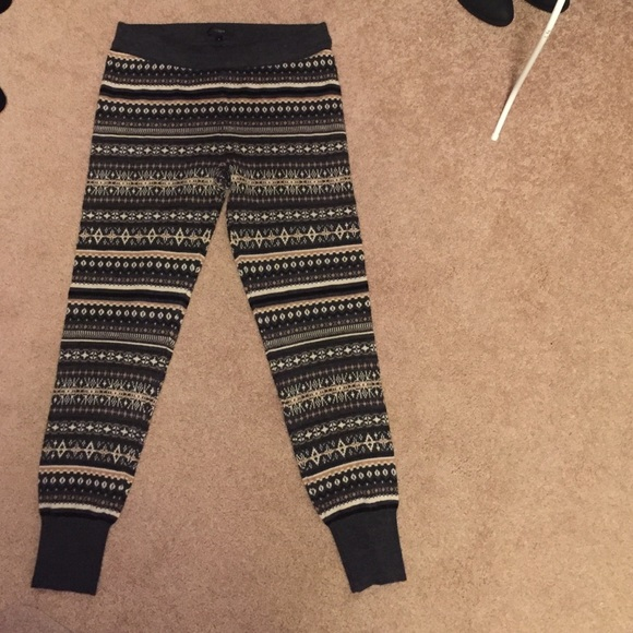 69% off J. Crew Pants - J. Crew Fair Isle sweater leggings from ...