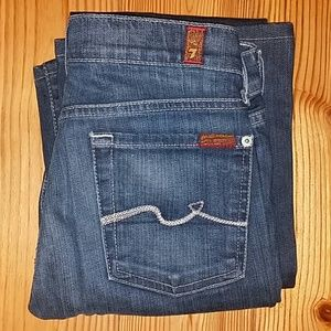Women's 7 For All Mankind Bootcut 26x32 *NWOT*