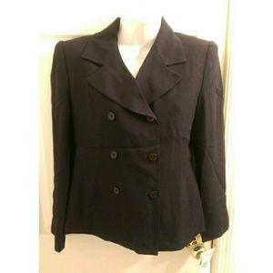 Rena Rowan  Jackets & Blazers - Brand new vintage navy Rena Rowan suit jacket