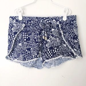 Lilly Pulitzer for Target Pants - Lilly Pulitzer for Target pompom shorts size XS