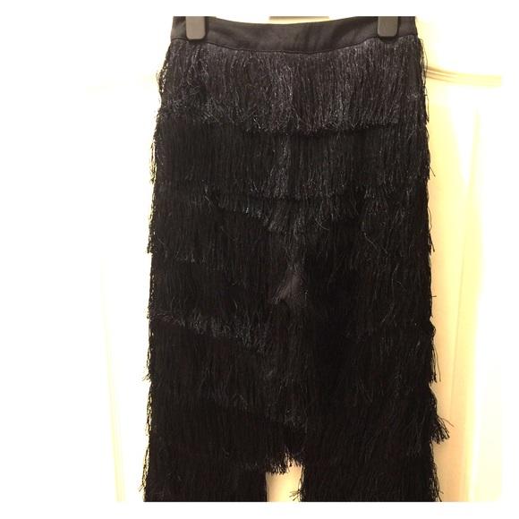 1fbf4288540c Lavish Alice Pants - Lavish Alice X Lindsay Lohan fringe pants