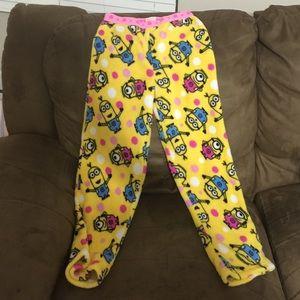 f94c057b61d0f6 Kids  Minion Pajama Bottoms on Poshmark