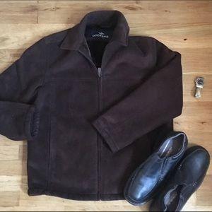 Dockers Other - Mens dockers suede jacket