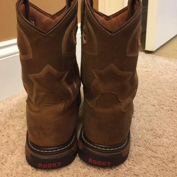 56% off Rocky Other - Boys rocky boots from Lari's closet on Poshmark