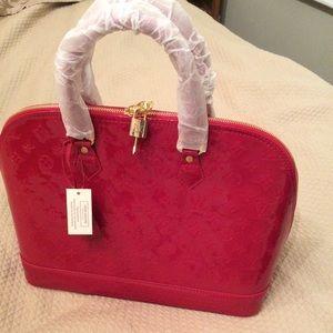 Handbags - XL red bag