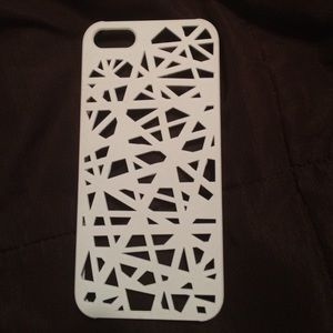 ❗️Sold ❗️iPhone 5/5s case - white abstract