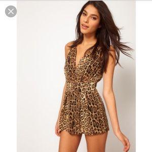 ASOS Dresses & Skirts - Leopard romper